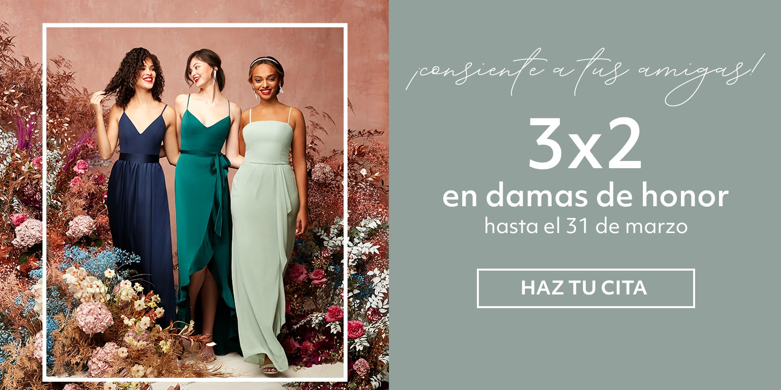 3x2 en Damas de Honor
